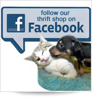Follow our thrift shop on Facebook